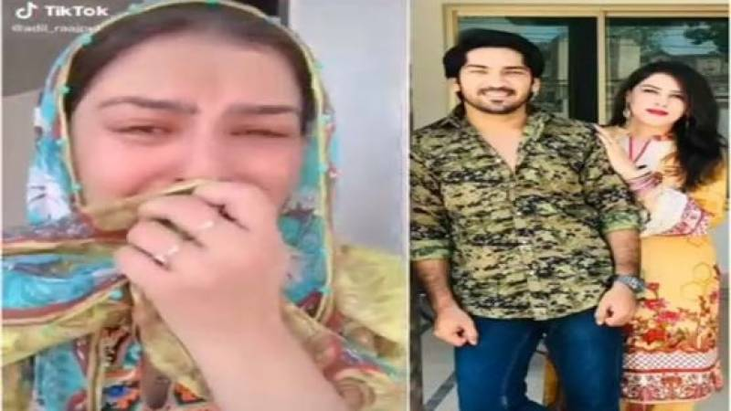 TikTok star Adil Rajput's wife shares fake news of his death, video goes viral