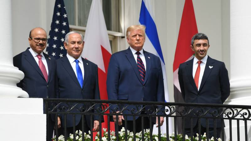 Trump hails 'dawn of a new Middle East' with Israel-Bahrain-UAE accords