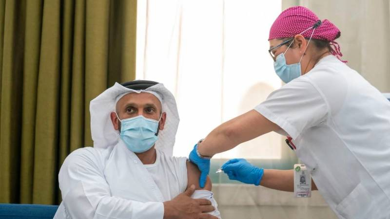 UAE approves use of Covid-19 vaccine for health workers