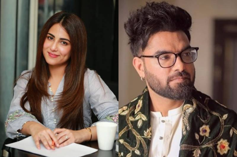 Ushna Shah praises Yasir for organizing protest against gang-rape incident