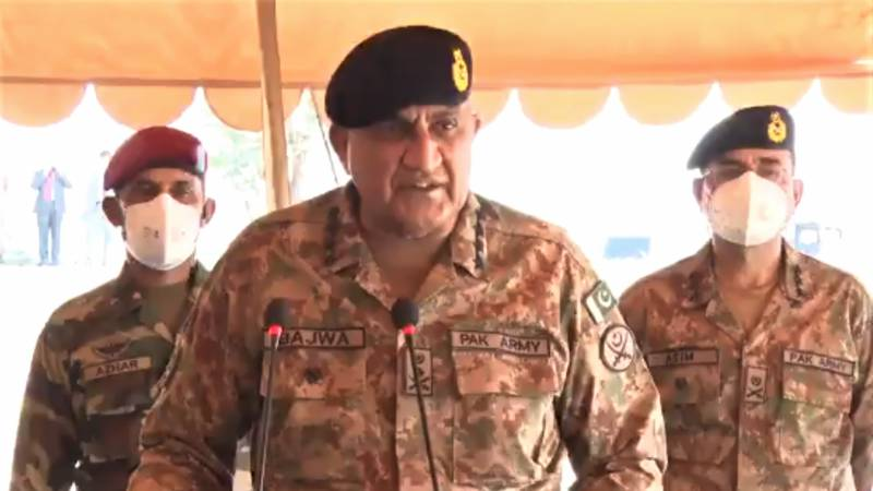 Army chief opens Burraq Combat Skills Training Complex in Gujranwala