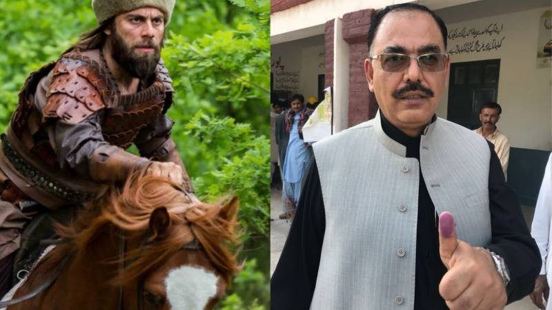 JUI-F Senator skips parliament session to meet Ertugrul actor