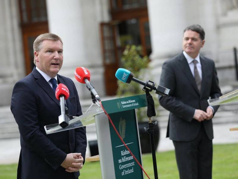 Ireland plans 2021 budget on basis of no Brexit trade deal