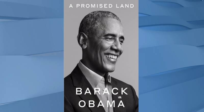 Obama says book coming in November two weeks after election