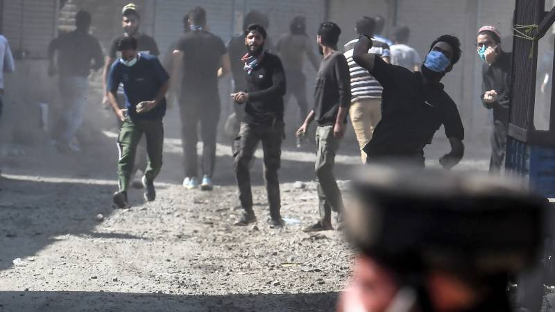 Clashes in Indian-held Kashmir after four killed