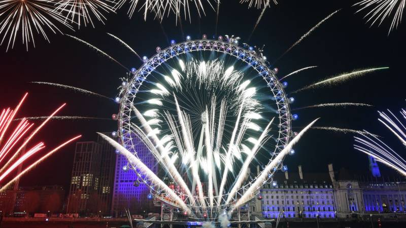 London's new year fireworks axed due to pandemic