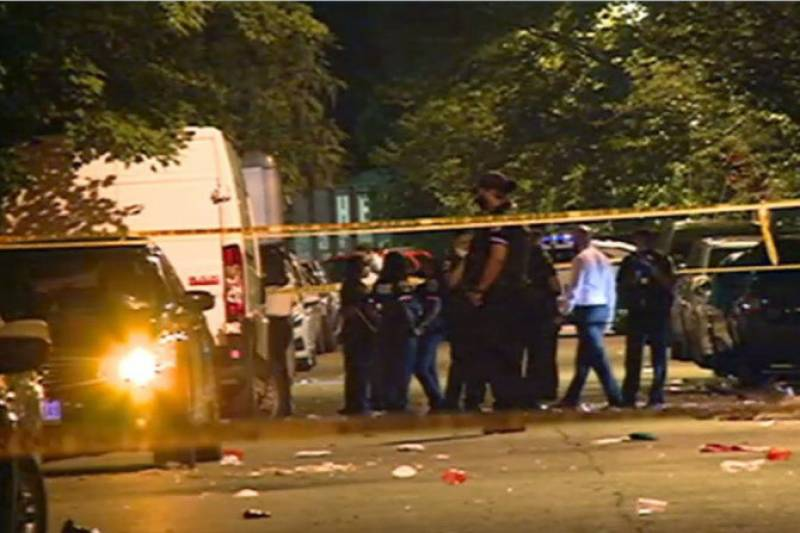 Two killed, 14 wounded in shooting at US party