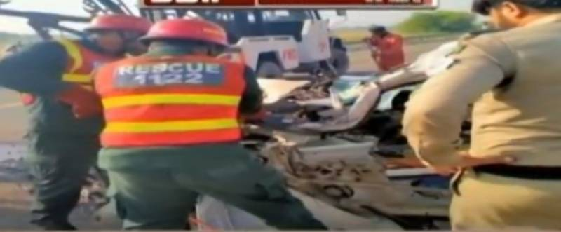 Five die in Gojra road crash