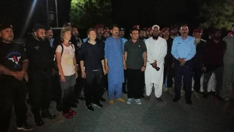 'Missing' diplomats found in Margalla Hills after hours of search