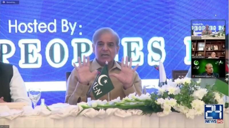 Shehbaz reminds PTI about probe in 2018 elections 'rigging'