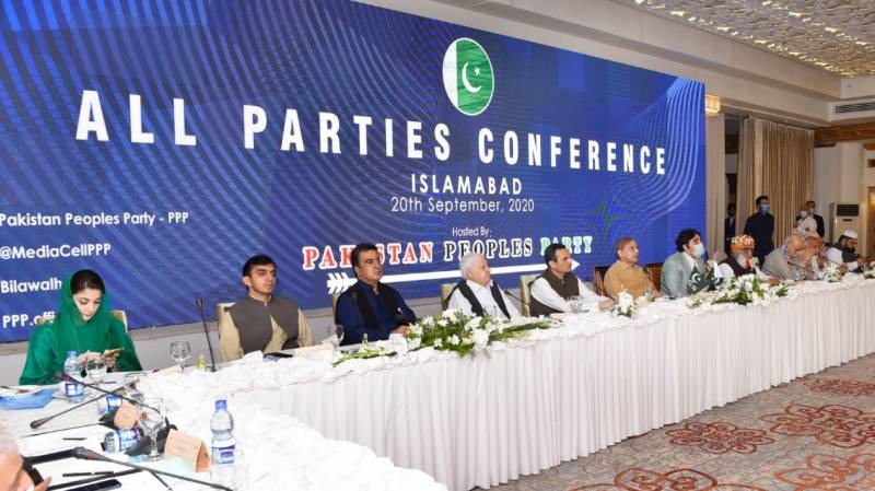 Inside story of opposition's all parties conference