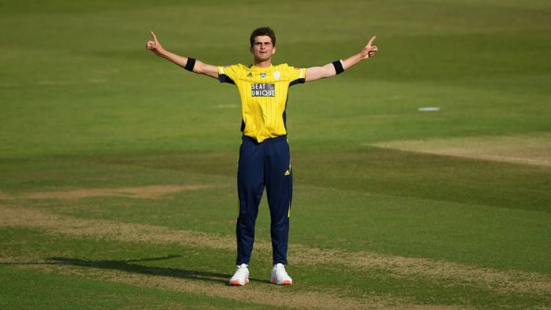 Four wickets in four balls: Shaheen Afridi makes history at T20 Blast