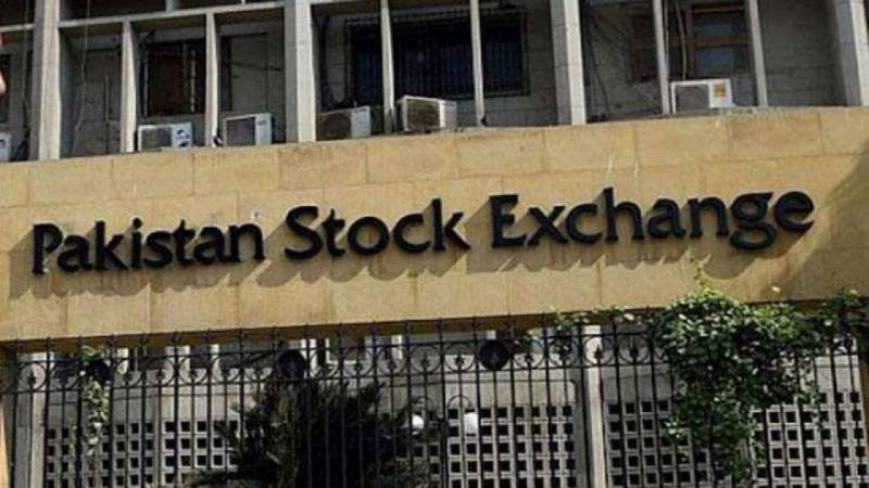 KSE-100 Index 330 points down as stock market receives battering