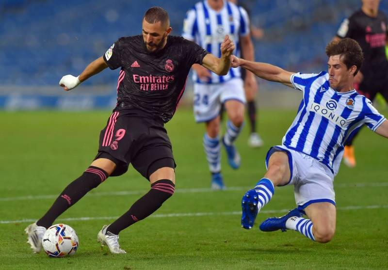 Real Madrid toil in goalless opening draw at Real Sociedad