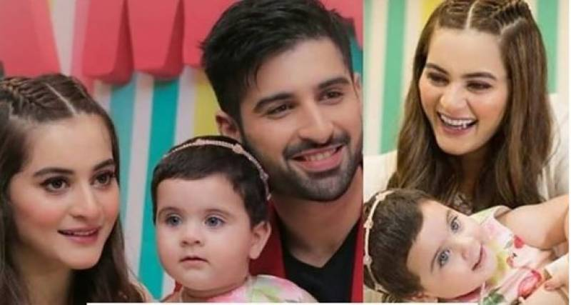 Actress Aiman Khan hits back at troll over remarks about Amal