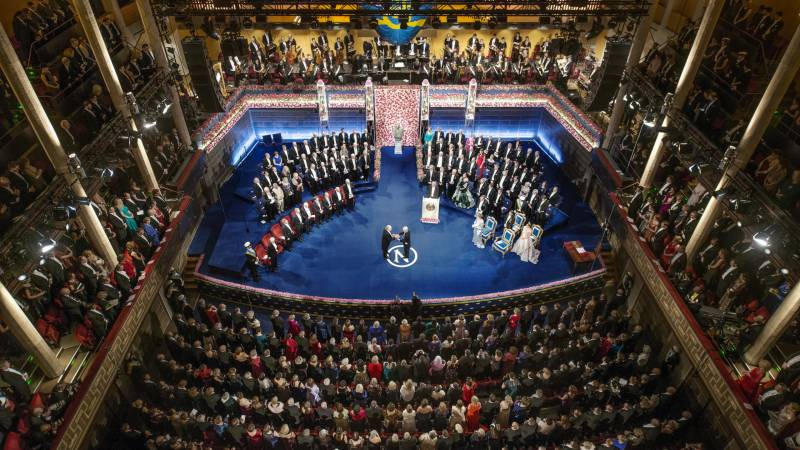 Stockholm Nobel ceremony replaced with televised event: Foundation