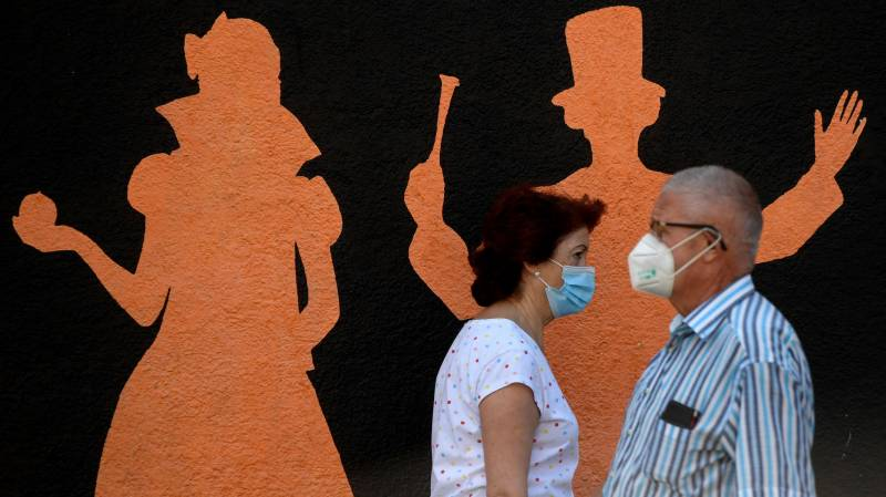 Spain calls on Madrid residents to restrict movements due to virus