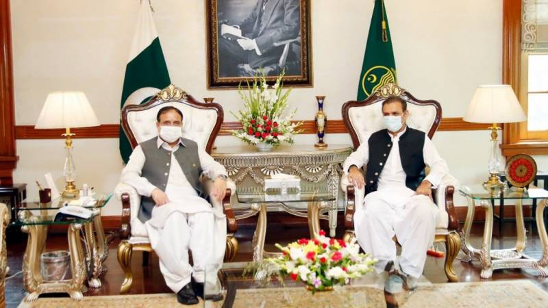 Bajwa, Buzdar discuss CPEC projects