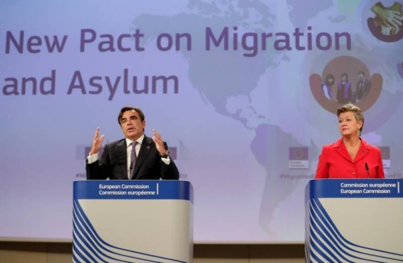 Brussels unveils plan to share responsibility for migrants