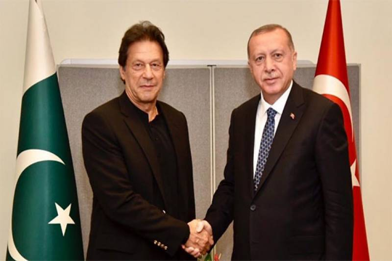 PM Imran Khan praises Erdogan for raising voice for Kashmiris