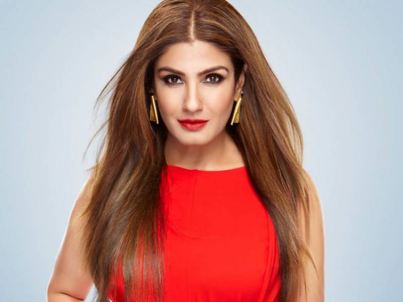 Indian actress Raveena Tandon on Bollywood drug probe