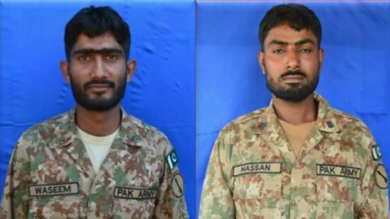 Two Pakistan Army soldiers martyred in Indian firing across LoC