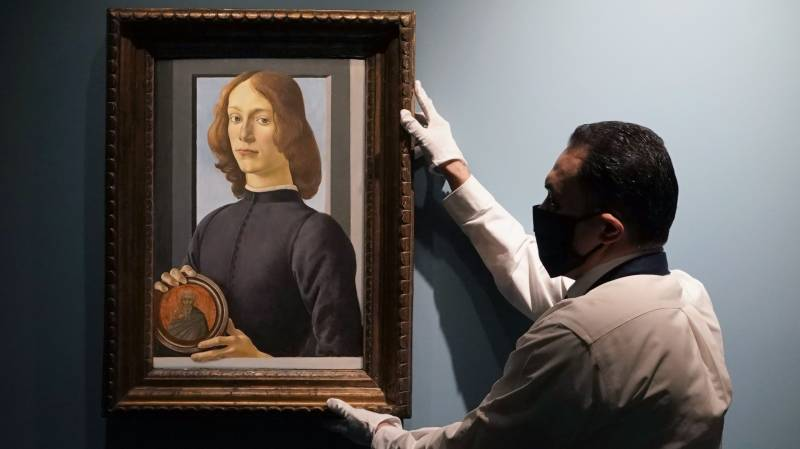 Botticelli painting expected to sell for record $80m