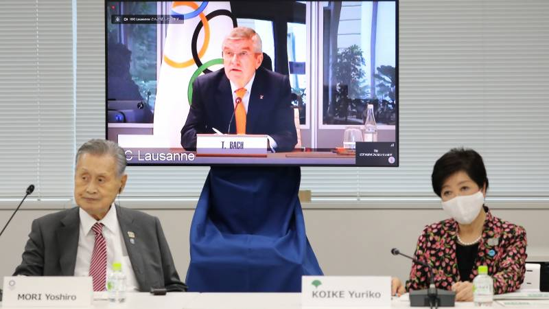 Tokyo Olympics could take place without vaccine: IOC chief