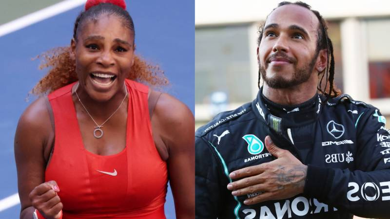 Lewis is a great champion and close friend, says Serena