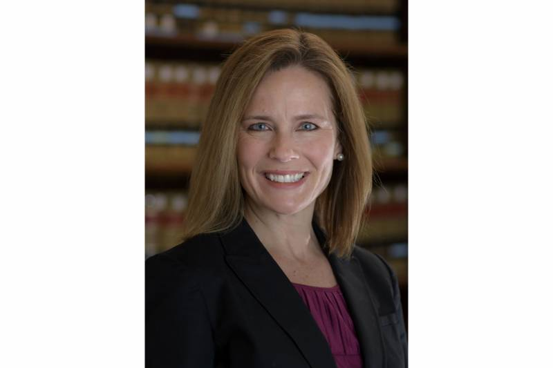 Trump to name Amy Coney Barrett to US Supreme Court