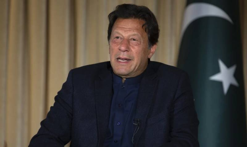 A hasty international Afghan pullout would be unwise: Imran Khan
