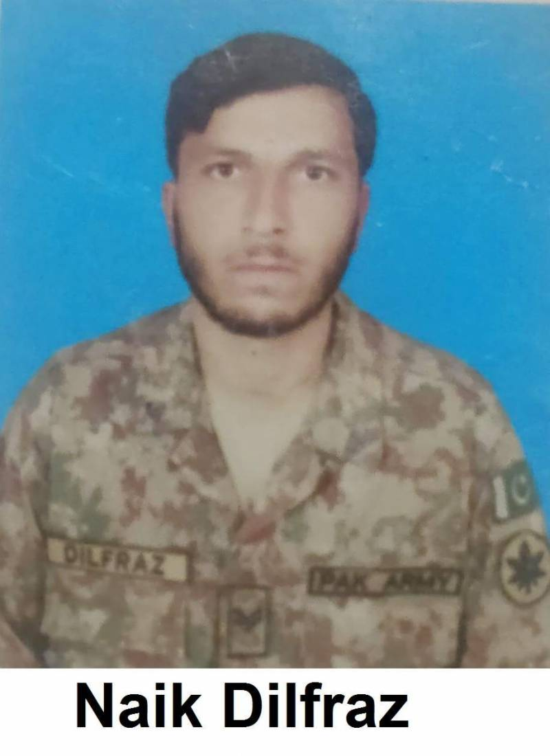 Pak soldier embraces martyrdom along LoC