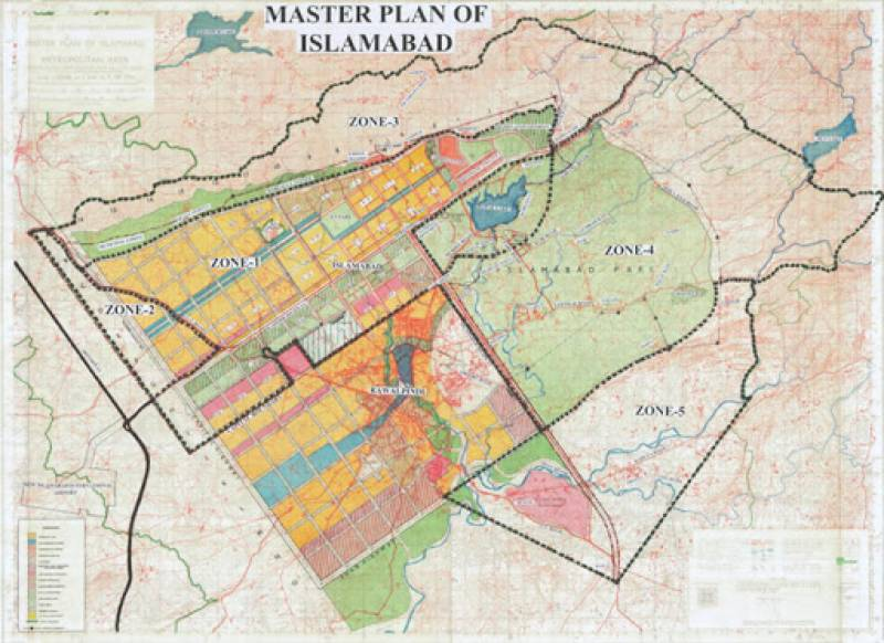 Major headway in Islamabad Master Plan changes