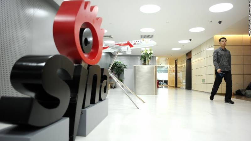 China internet giant Sina to delist US stocks in $2.6b deal
