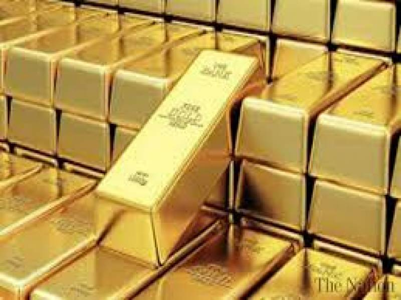 Gold price decreases by Rs300 per tola