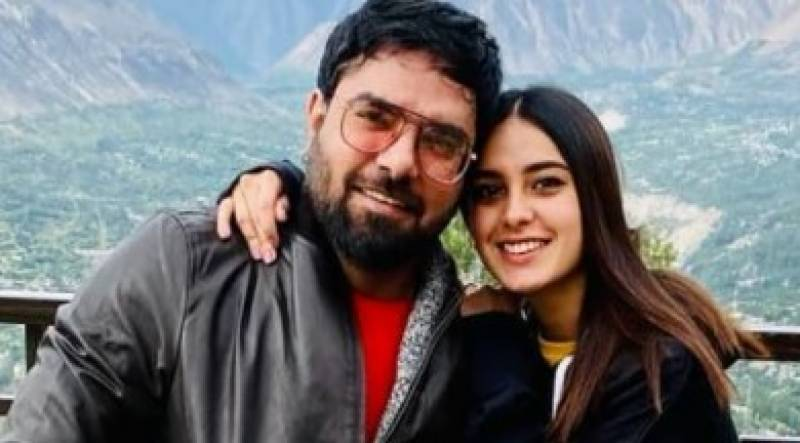 Iqra Aziz, Yasir Hussain enjoying their vacation in Hunza