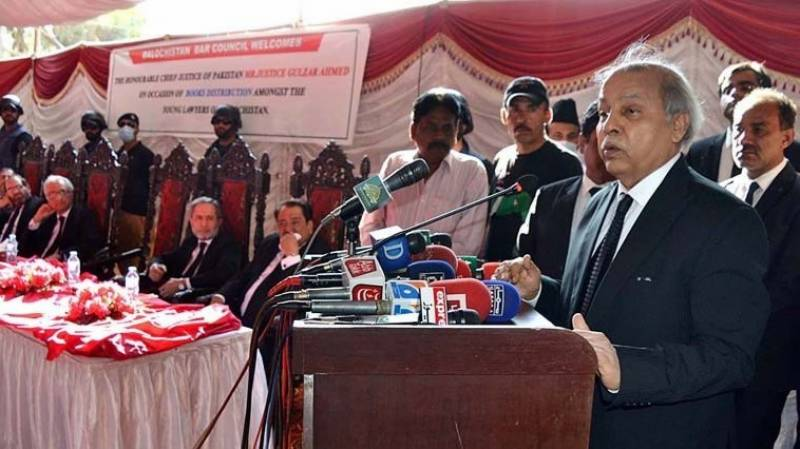 Solving Balochistan problem at the earliest: CJ