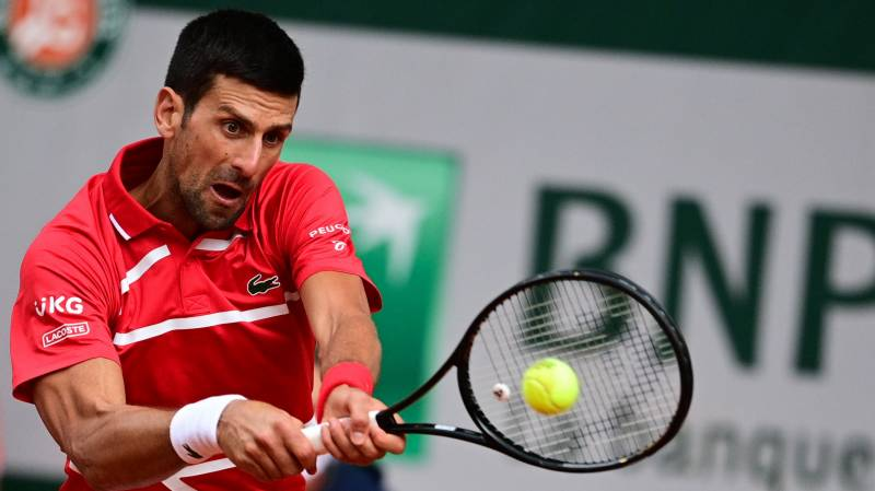 Djokovic storms to 70th win at Roland Garros