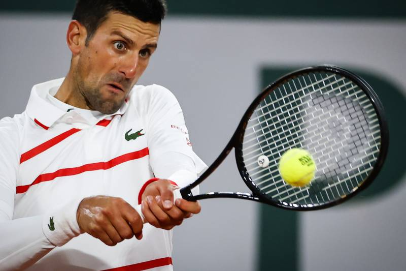 Djokovic 'the snake' tackles Berankis 'the spearfisher' at Roland Garros