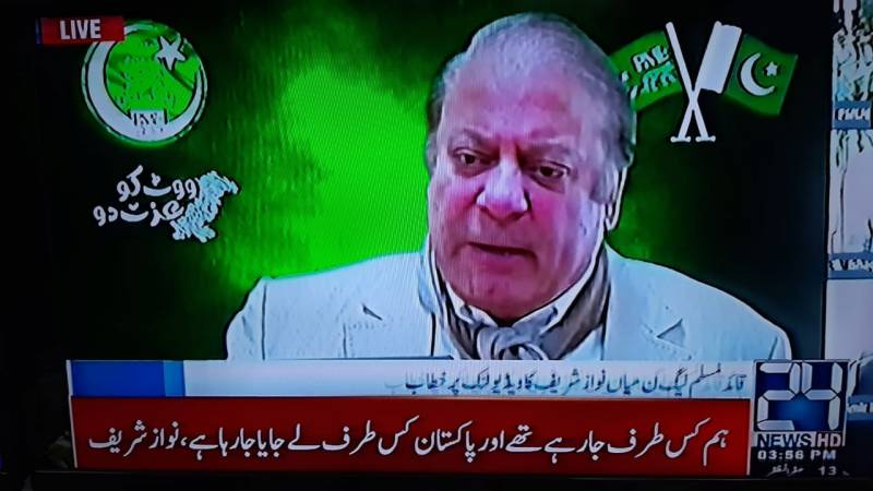 Don't even try to silence me, warns Nawaz