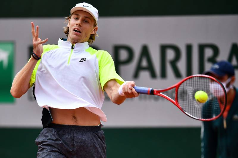 Shapovalov dumped out after five-hour French Open tussle
