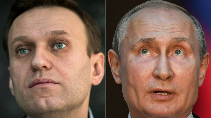 Vowing return to Russia, Navalny accuses Putin over poisoning