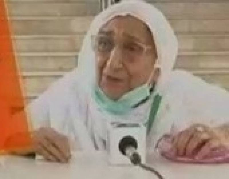 90-year-old woman's quest for Haq Mehr goes on for 75 years