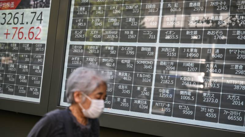 World stocks slide after Trump catches coronavirus