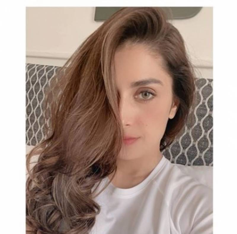 Actress Ayeza Khan steals our hearts with latest pictures