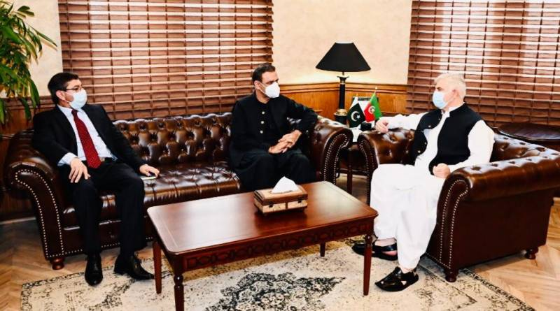 Asim Bajwa meets KP CM over CPEC projects