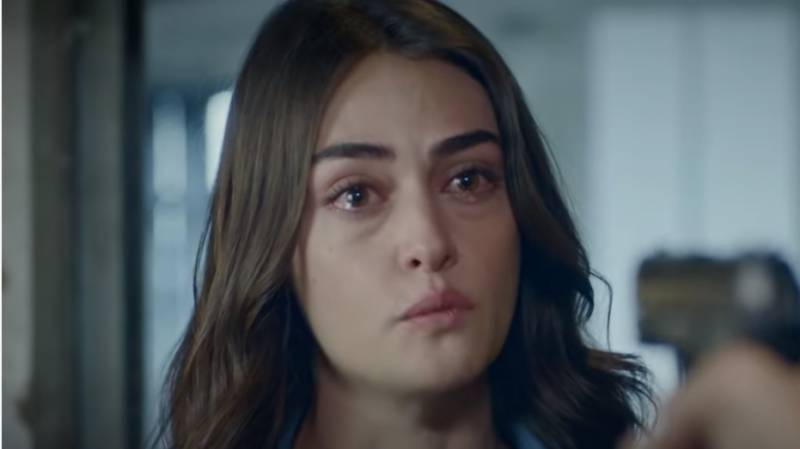 Esra Bilgic breaks down in tears in new trailer of romantic thriller 'Ramo'