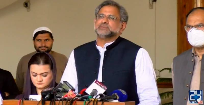 If talking about constitution is 'treason' then it will be committed every day: Shahid Khaqan