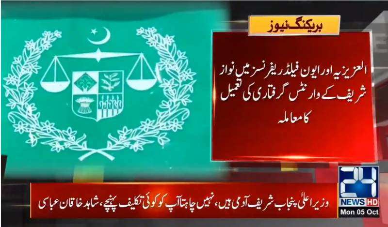 Key documents relating to Nawaz's warrants submitted in IHC