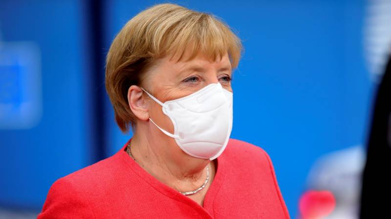 Merkel outraged over 'attempted murder' of Jewish student